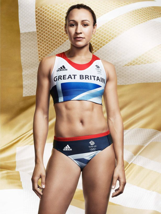 Jessica Ennis - Look what Team GB have!