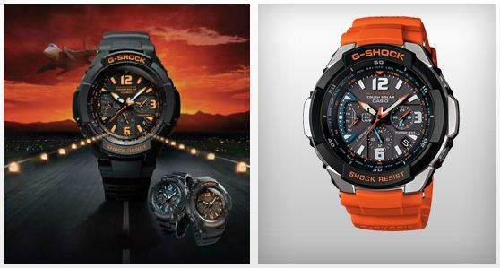 G-Shock Aviation GW3000