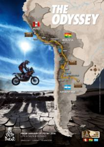 2016 Dakar Route Unveiled Announced