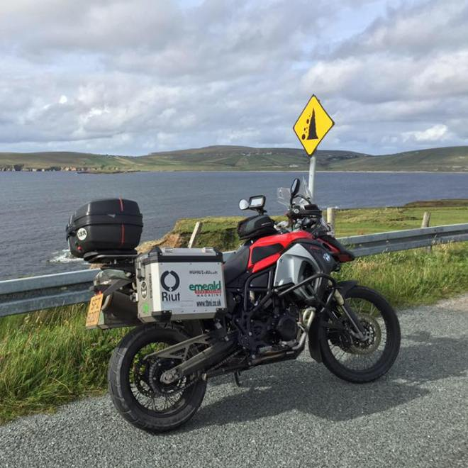 #WAWIn1Week The Motorcycle I used - BMW F800GS Adventure Travel Edition