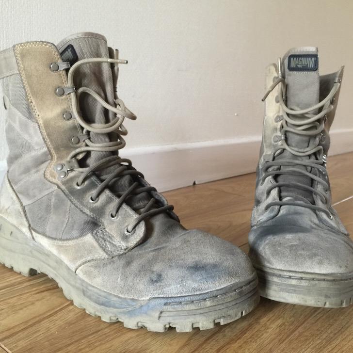 Hi-Tec Magnum Desert Boots