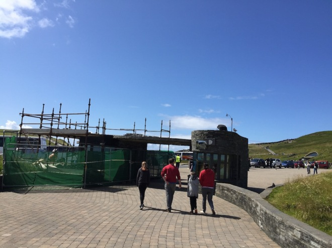 Wild Atlantic Way - Cliffs of Moher Visitor Centre Entrance