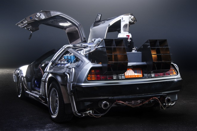 Happy Back to the Future Day - 21 October 2015 - DeLorean