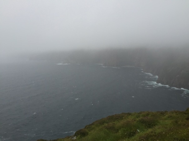 Wild Atlantic Way - Sliabh Liag - Look Closely the cliffs are actually there!