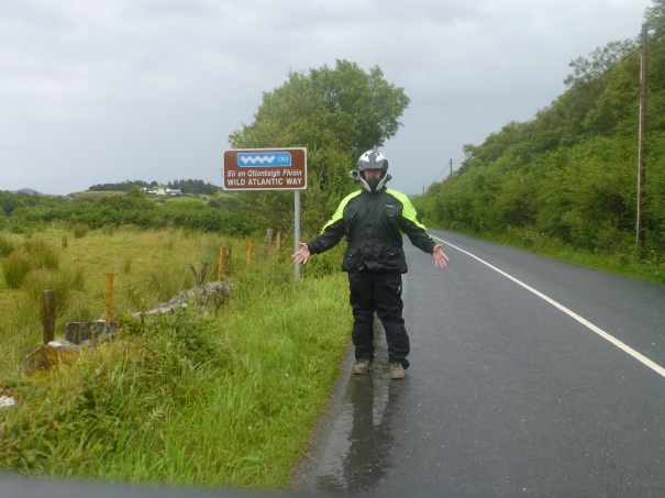 Wild Atlantic Way - It really was that wet today!