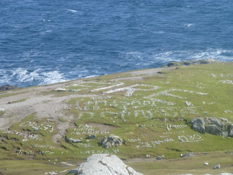 The Wild Atlantic Way - Donegal Coast Eire Sign