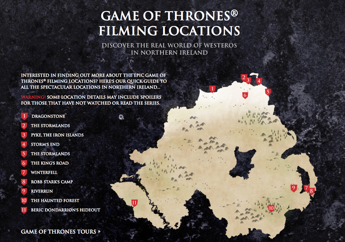 Northern Ireland - Game of Thrones Filming Locations