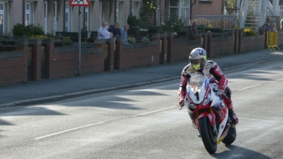 John McGuinness at Isle of Man TT 2016 : Practice Week