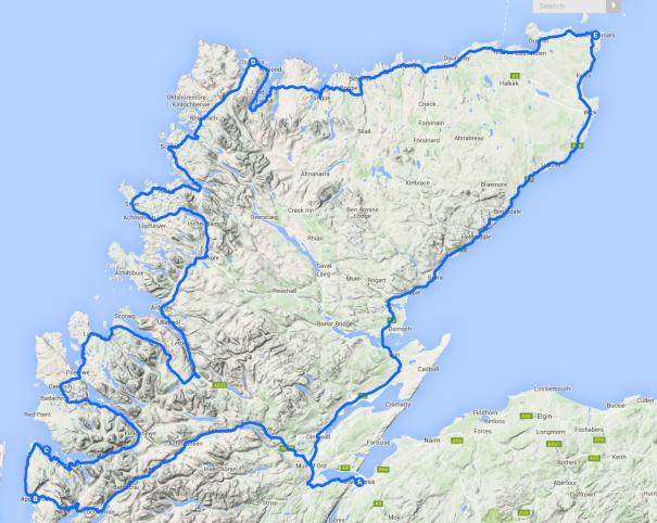 Scotland's NC500 Coastal Route