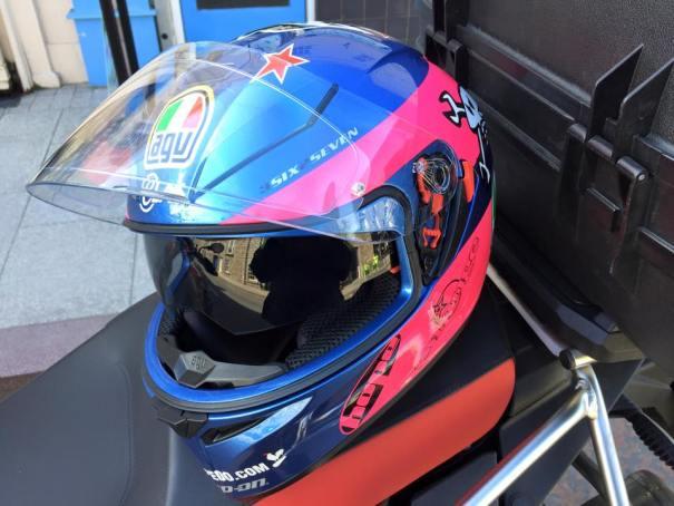 AGV K3 SV Replica Helmet - Guy Martin