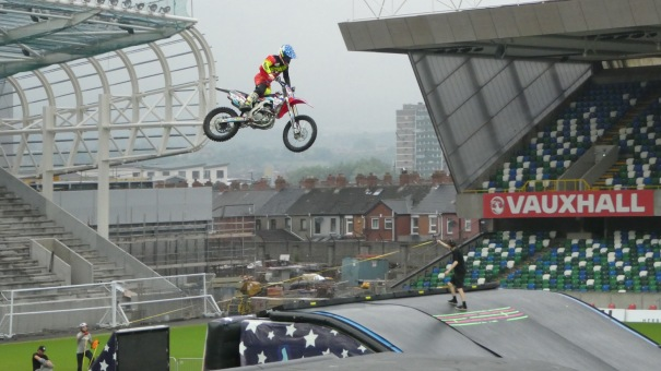Nitro Circus, Windsor Park, Belfast 10th June 2016 - The Warmup was even impressive!