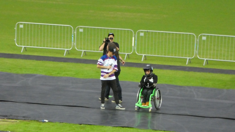 Nitro Circus, Windsor Park, Belfast 10th June 2016 - Wheels