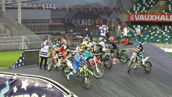 Nitro Circus, Windsor Park, Belfast 10th June 2016