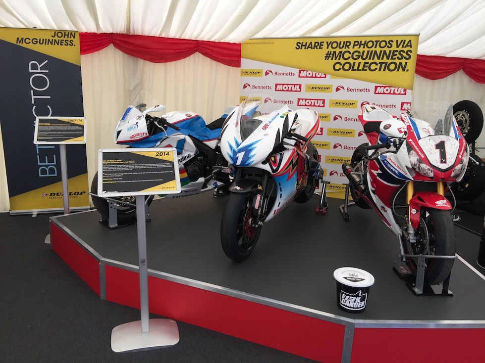 Isle of Man TT 2016 - The John McGuinness Collection #McGuinessCollection
