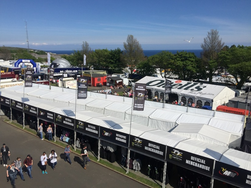 Isle of Man TT 2016 - Grandstand Area