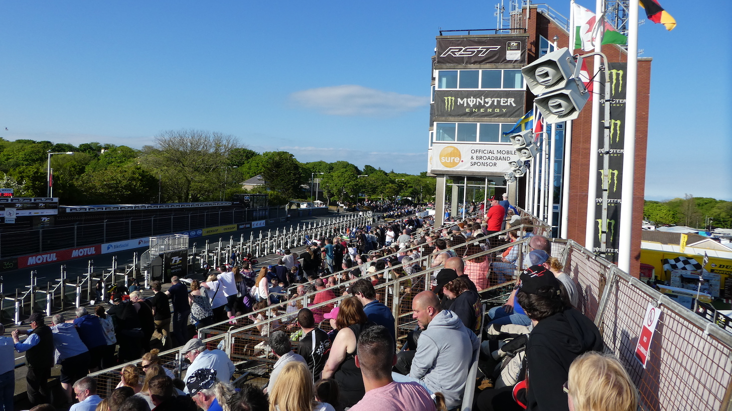 Isle of Man TT 2016 - Practice Session (Monday)