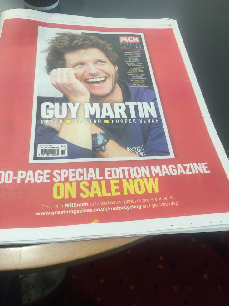 MCN 1st June 2016 - Guy Martin