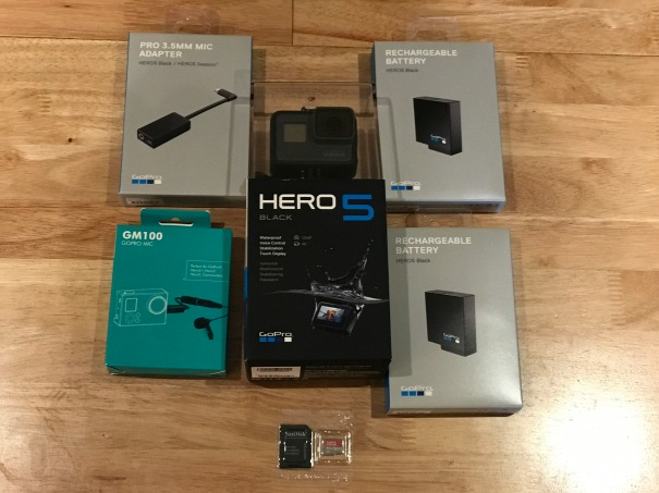 2017 GoPro Hero 5 Black Edition Audio and Video Components