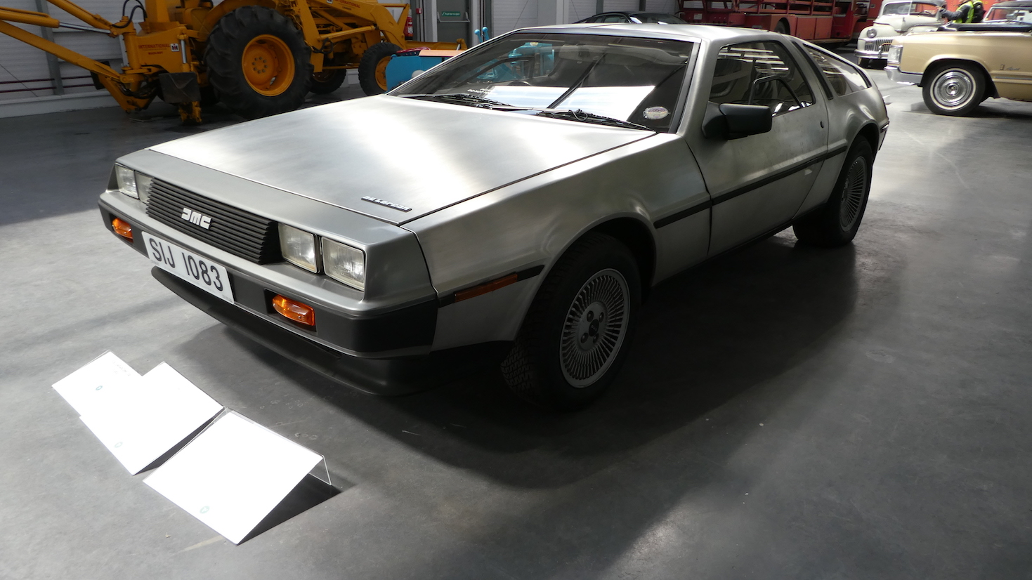 Don't forget the Flux Capacitor - Isle of Man Motor Museum