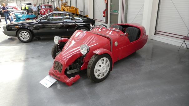 A Steam Powered 2CV - where else would you find one of these? Isle of Man Motor Museum