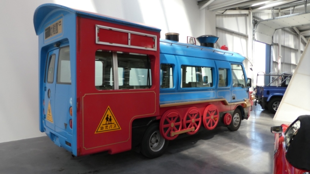 Now that's how you do a proper cool School Bus - Isle of Man Motor Museum