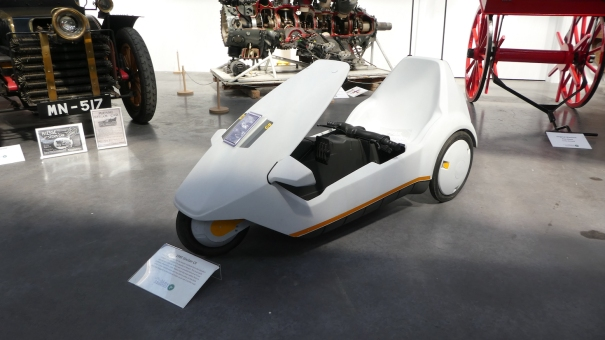 If you have ever played Paperboy - you know what these are! Isle of Man Motor Museum