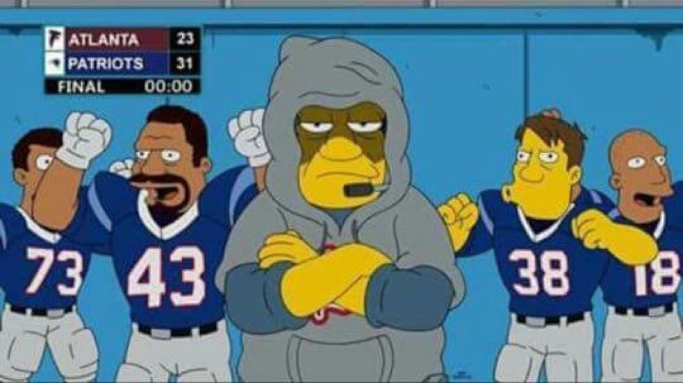 The Simpsons predict Superbowl LI Result?