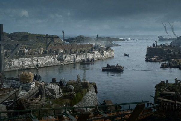 Northern Ireland Game of Thrones Filming Locations : Ballintoy Harbour : Dragonstone