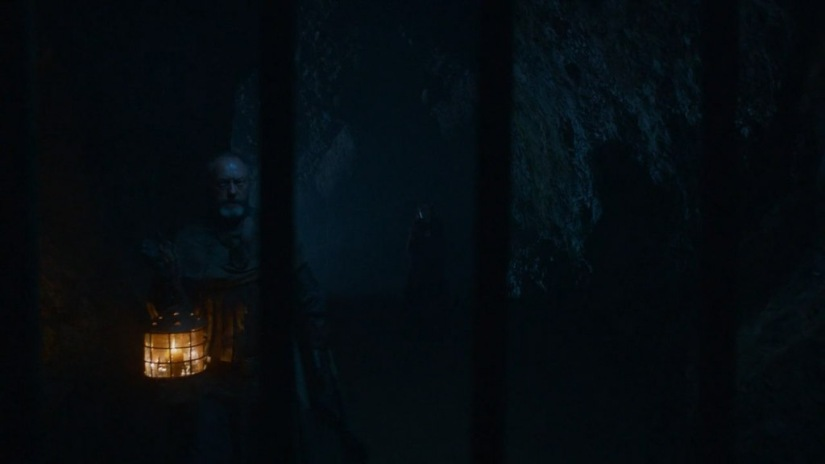 Northern Ireland Game of Thrones Filming Locations : Cudendun Caves : The Stormlands : Image copyright of HBO, screencap from Screencapped.net
