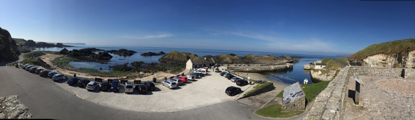 Northern Ireland Game of Thrones Filming Locations : Ballintoy Harbour : Lordsport : Port of Pyke