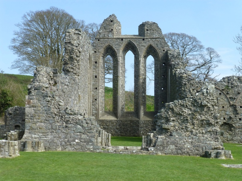 Northern Ireland Game of Thrones Filming Locations : Robb Stark's Camp : Inch Abbey