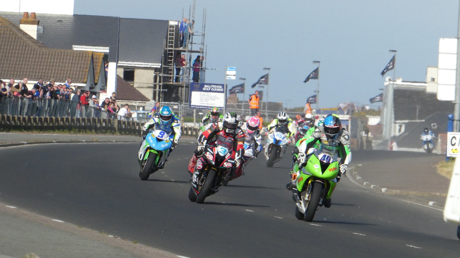 Thursday Night Action at the 2017 NW200 Event