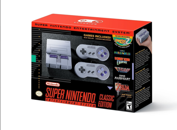 Classic SNES Coming 29th September 2017