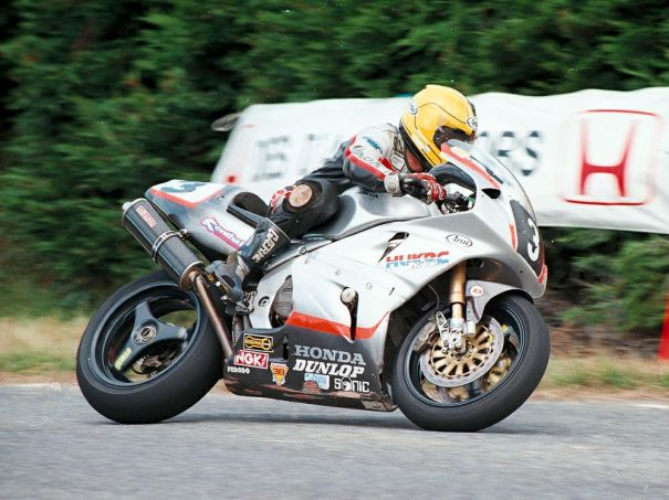 Joey Dunlop's Honda RC45