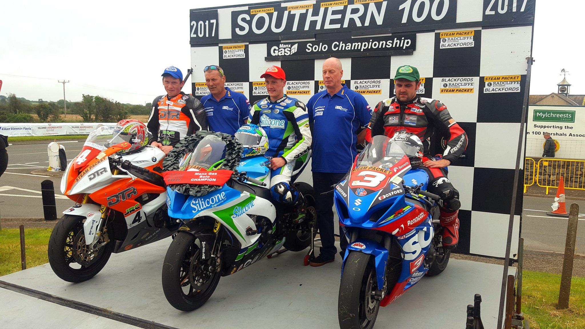 Souther 100 Champion Dean Harrison