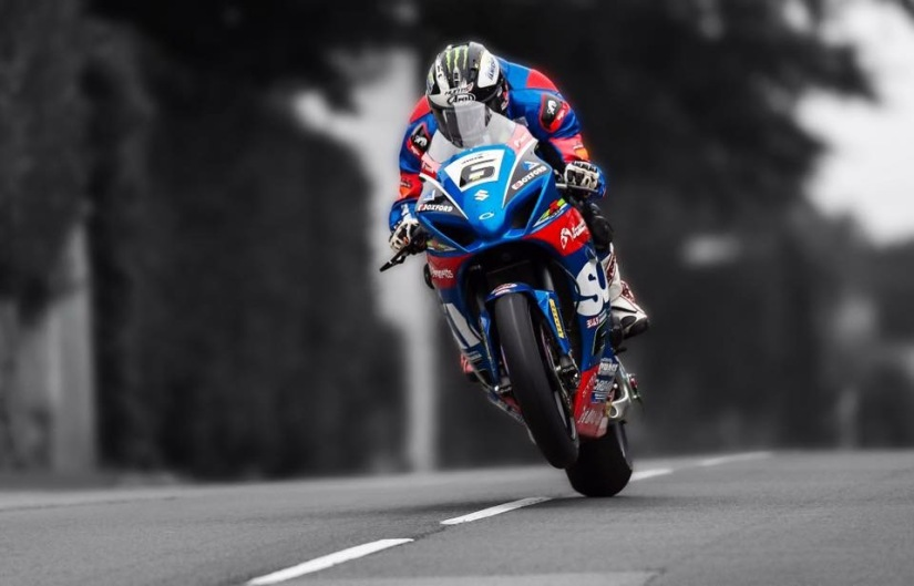 Michael Dunlop at the 2017 Armoy Road Races - Taking his seventh 'Race of Legends' in a row!